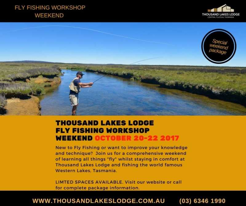 Thousand Lakes Lodge Fly Fishing Workshop Weekend