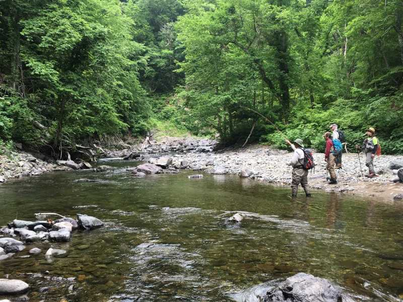 Japan Fly Fishing Trip 2018