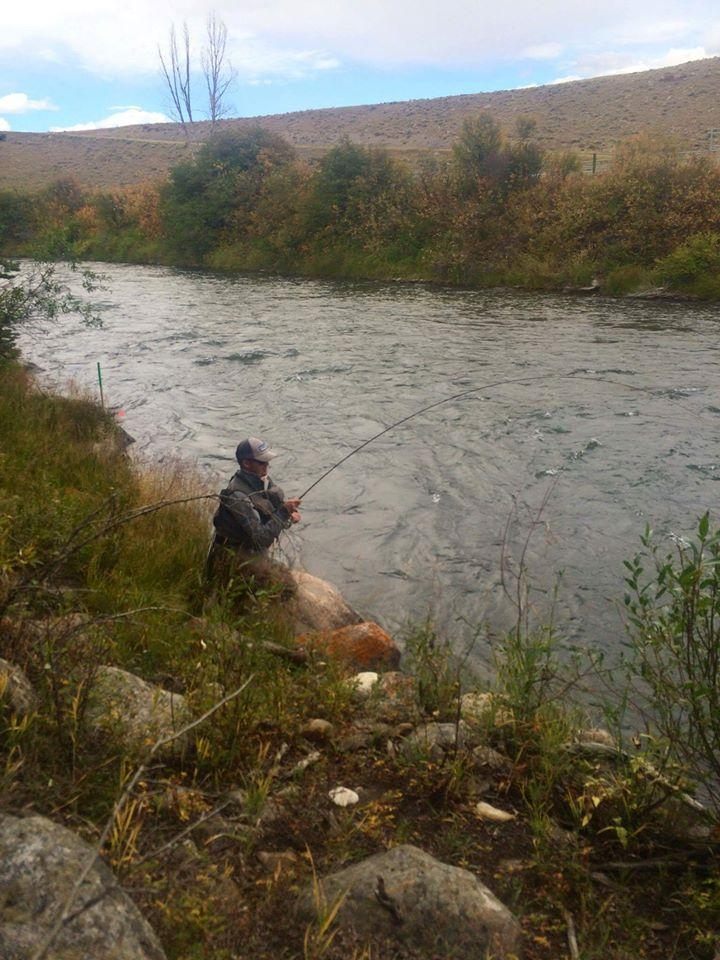 World fly fishing championships report 2016 rainbow for Blue river fishing report